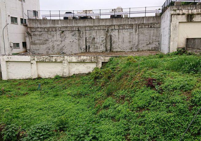 春日町建物解体跡
